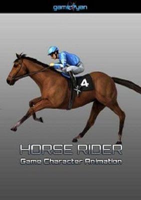 Horse Rider Game Modélisation de personnages