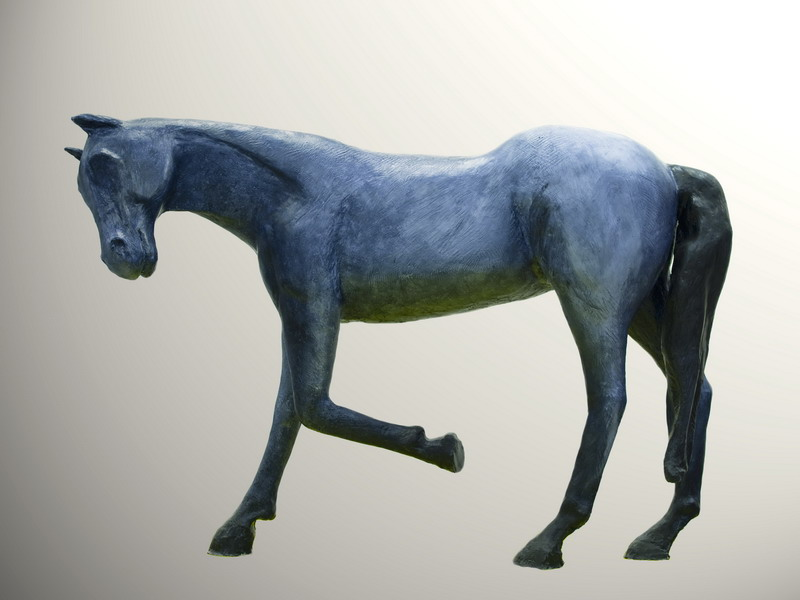 Horse Sculpture 1 (artwork by a friend)