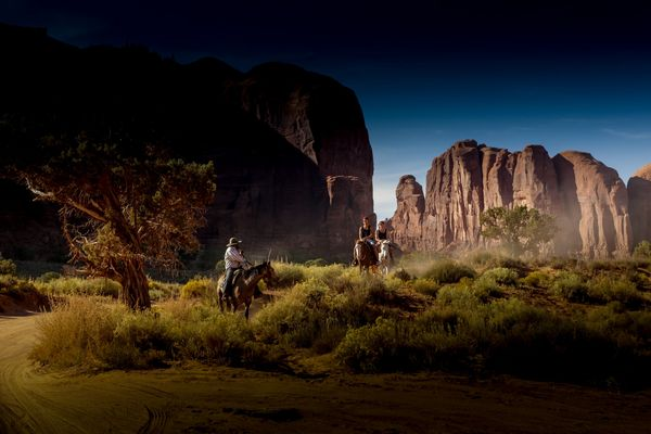 Horseback Riding in Monument Valley, USA