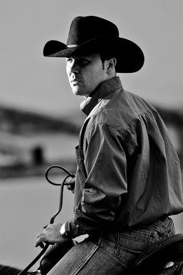 Horseman At Work