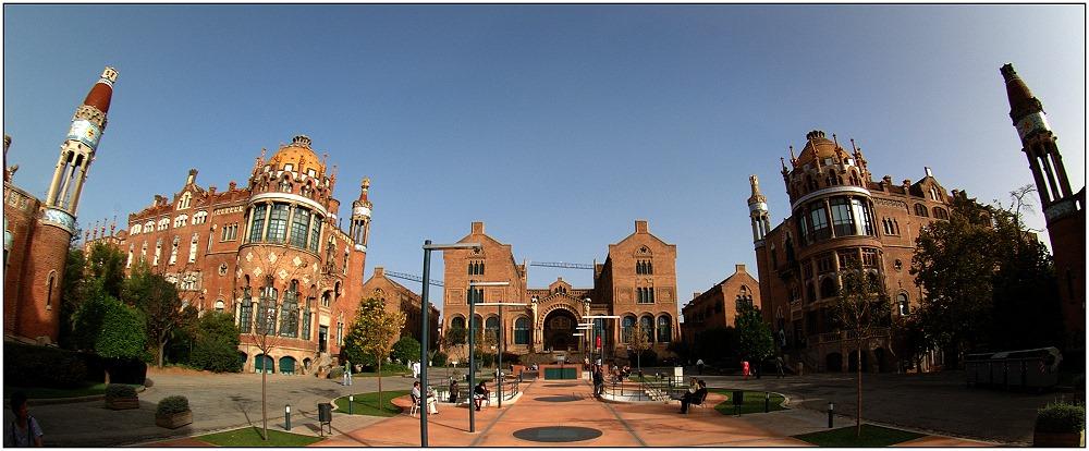 ... Hospital de la Santa Creu i de Sant Pau ....