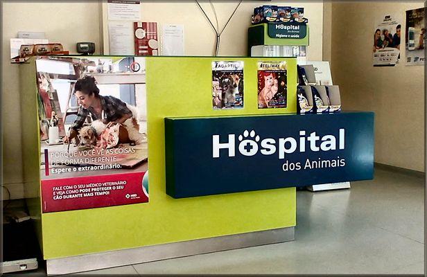 Hospital dos Animais. Animal Hospital.