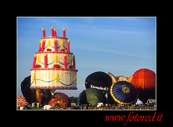 Hot Air Ballos: Ballon: Mongolfiere