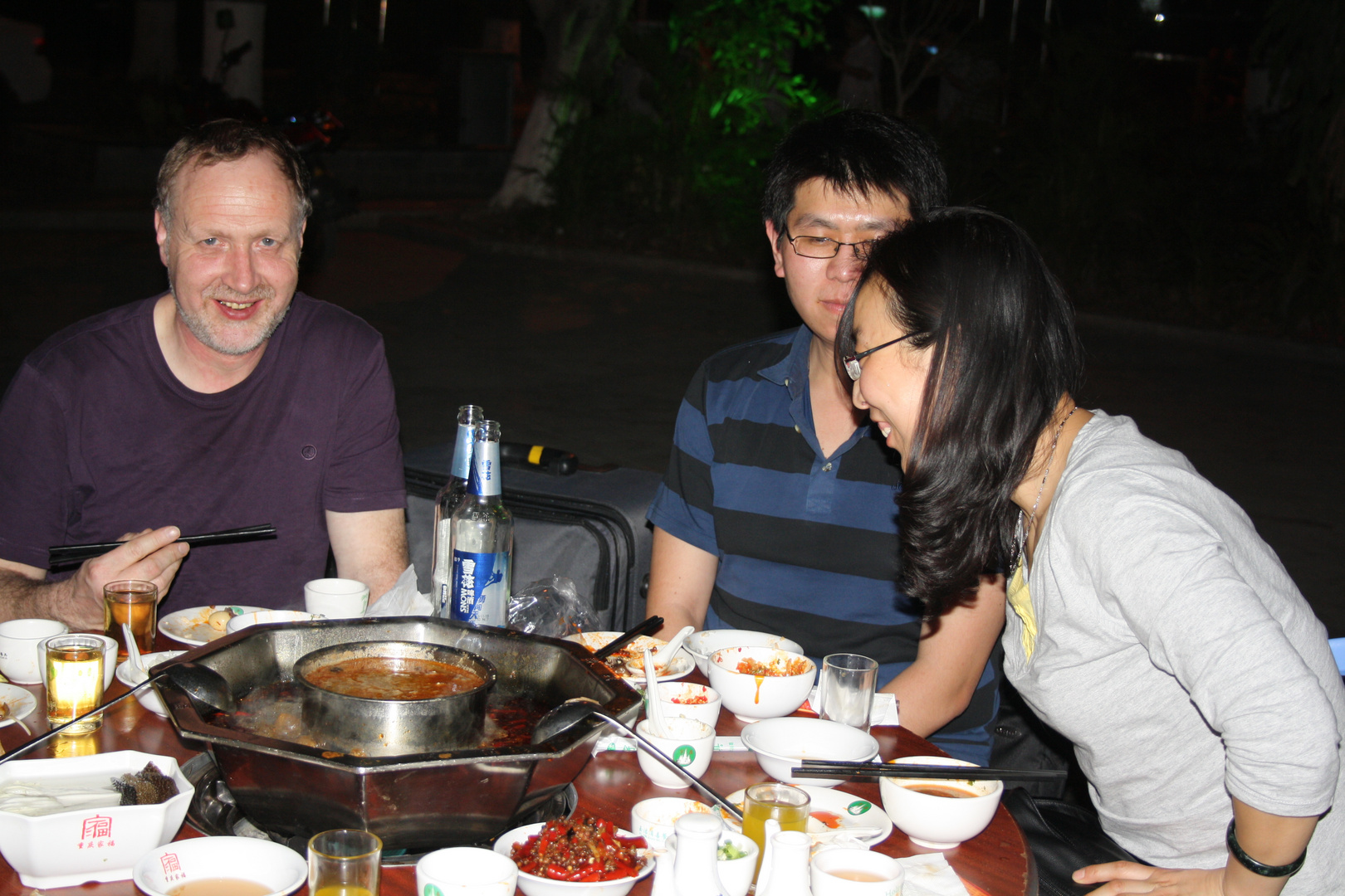 Hot pot in Jinghong