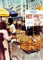 Hot Pretzel 25 Cent New York 1978