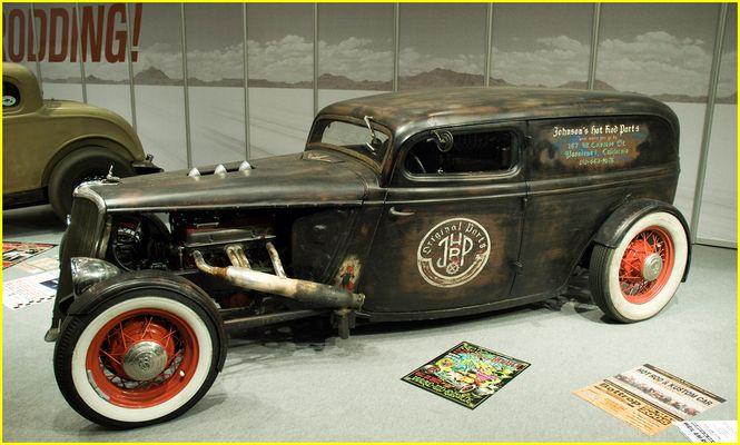Hot Rod 1934 Ford Sedan
