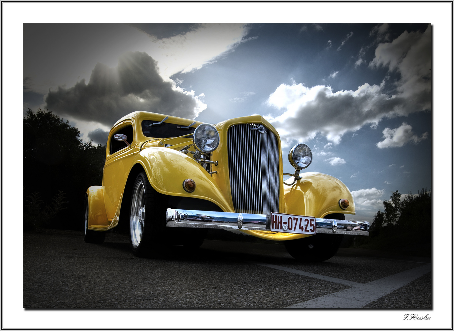 HOT ROD chevy