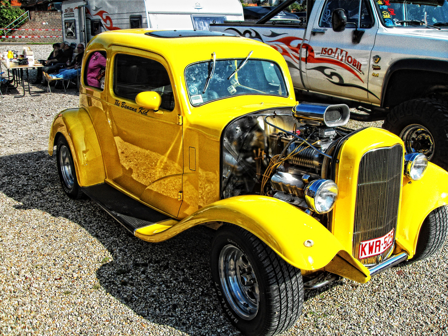 HOT - ROD in Gelb