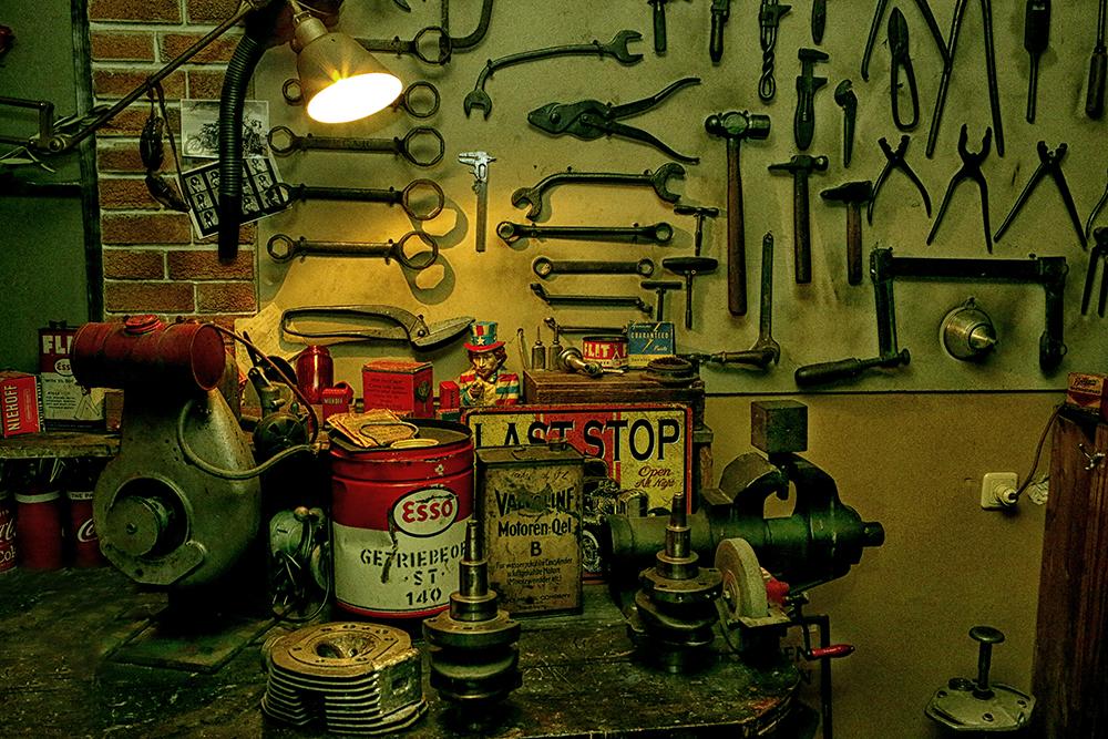 Hot Rod Werkstatt....