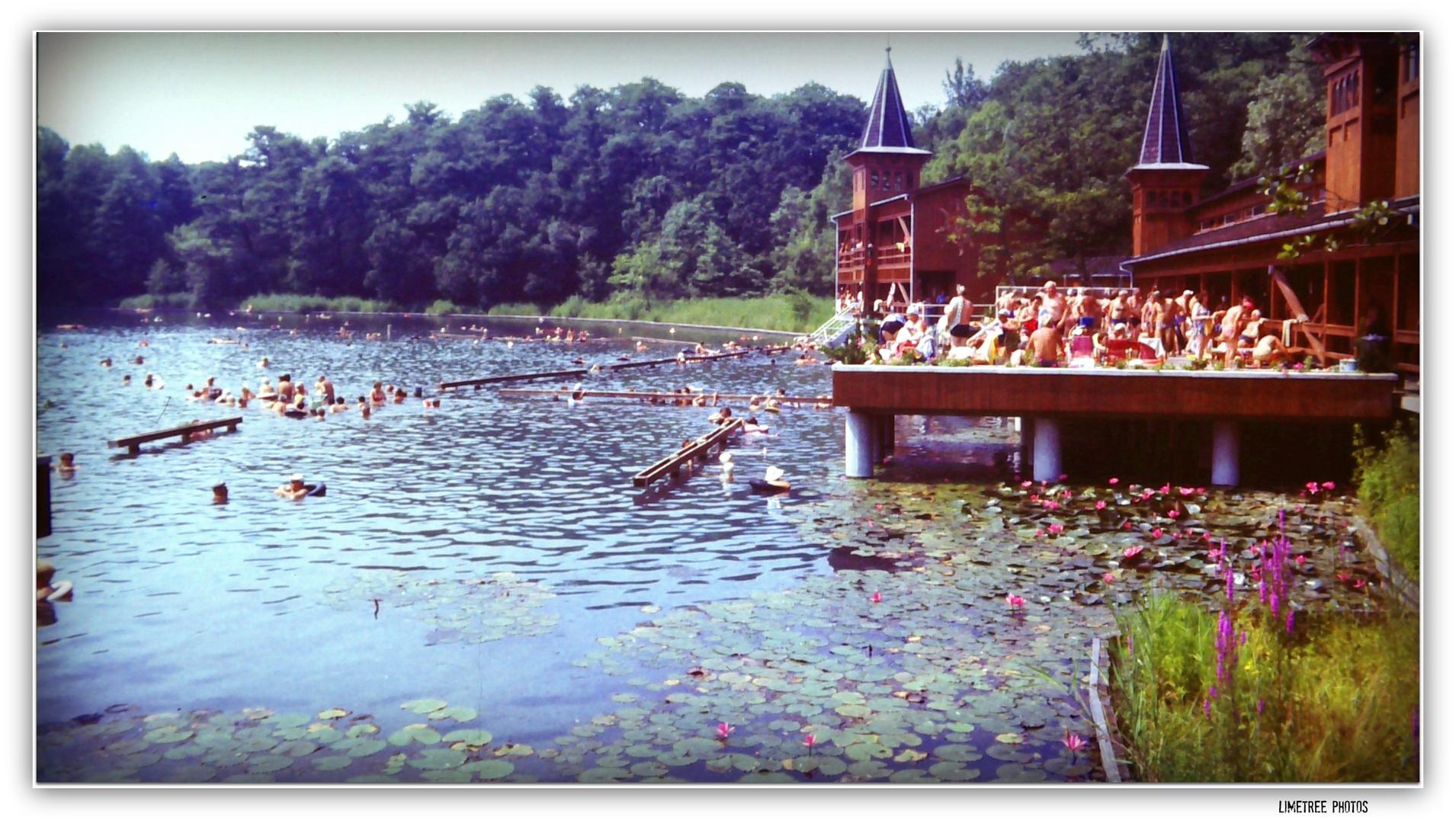 Hot Spring Lake in Heviz