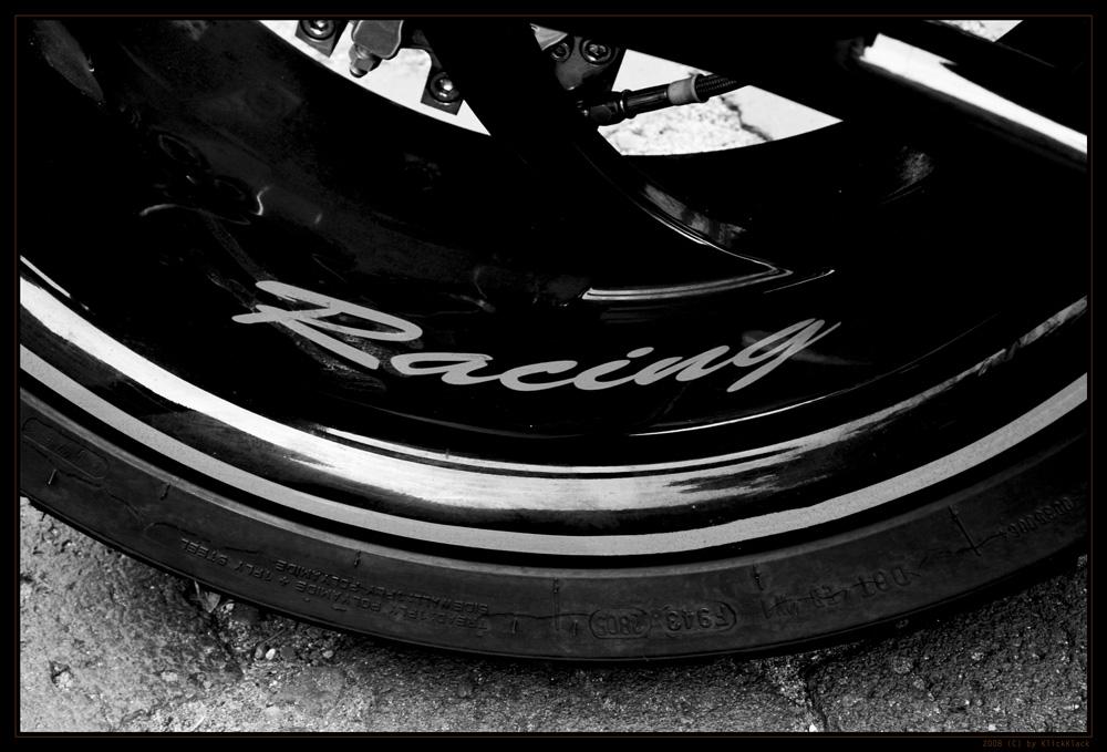 Hot wheel of a Harly Davidson