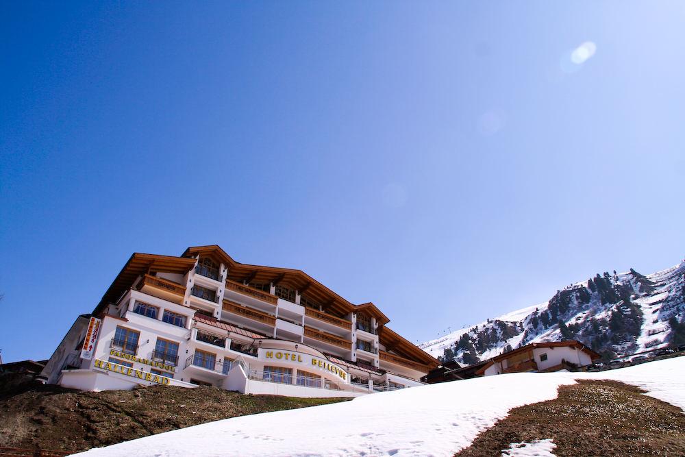 Hotel Bellevue in Obergurgl (Österreich)