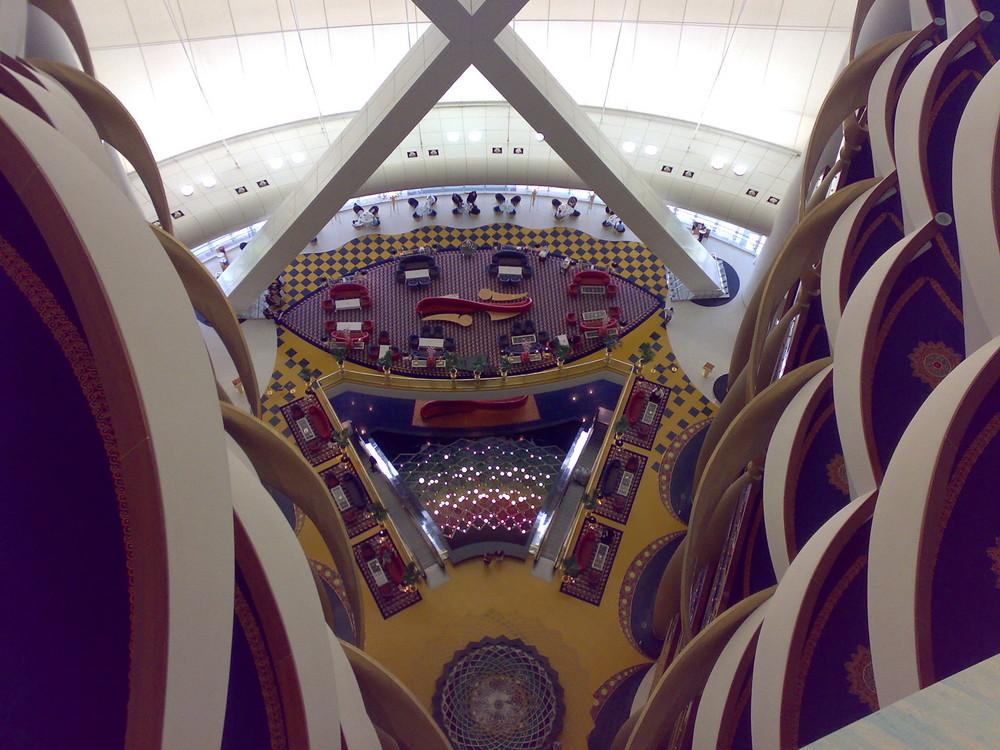 Hotel Burj Al Arab Halle 18.tes Stockwerk