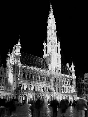 Hotel de ville de Bruxelles