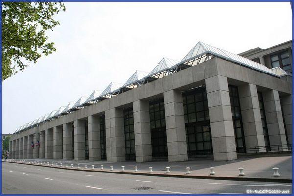 Hôtel de ville du Havre coté nord