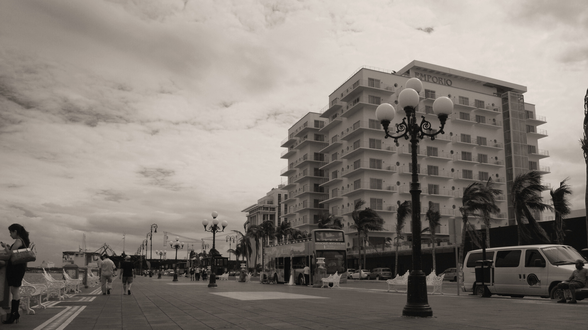 Hotel Emporio, Puerto de Veracruz, México