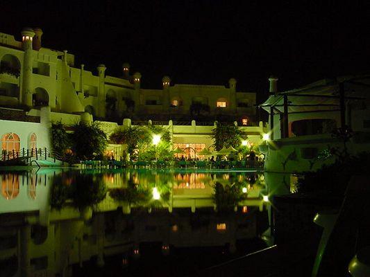 Hotel Hammamet bei nacht