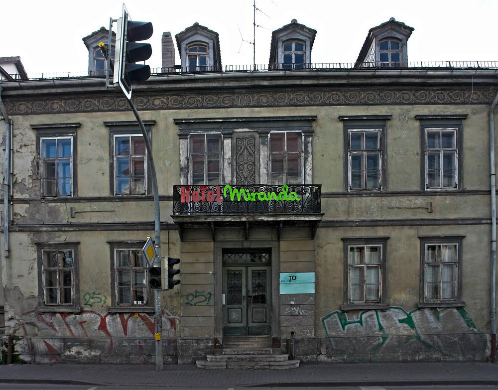 Hotel in Betrieb . .