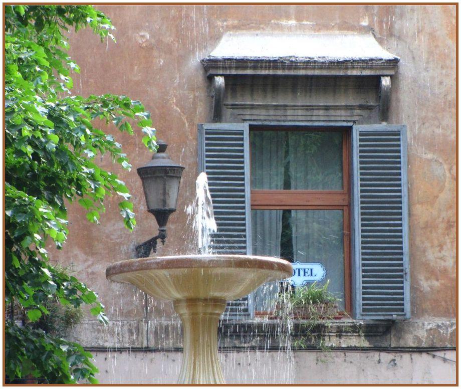 Hotel mit Wasseranschluss