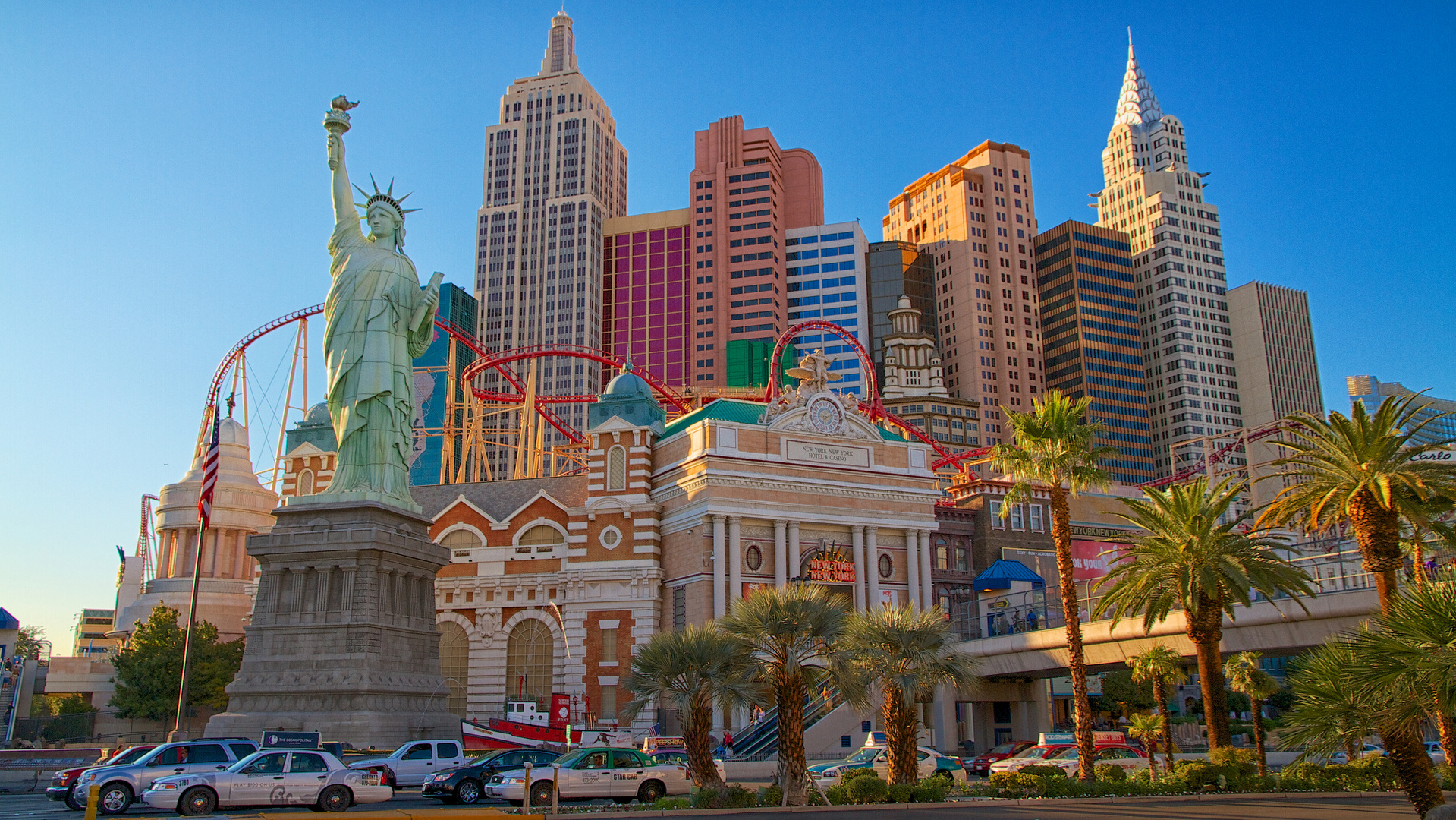 Hotel New York, New York in Las Vegas