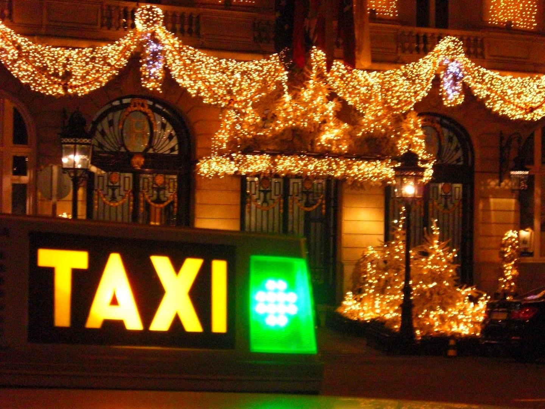 Hotel Ritz, Madrid. En navidades