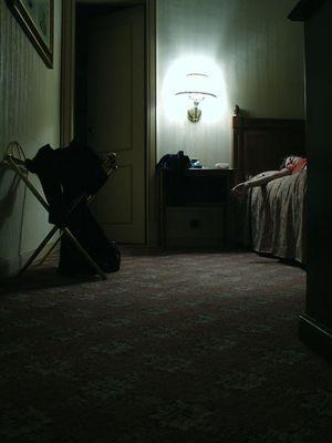 hotel room paranoia