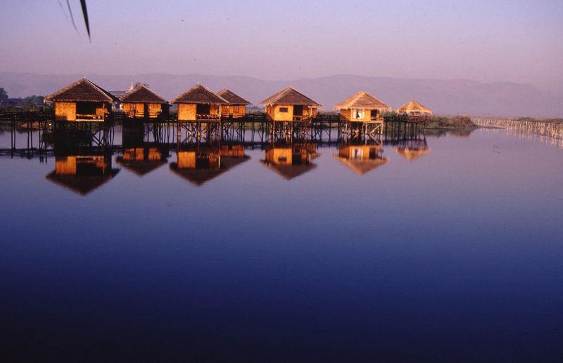 Hotel Shwe Inn Tha im Inle Lake, Birma