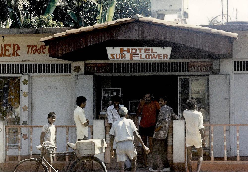 Hotel Sunflower Galle Road, Columbo, Ceylon 1976