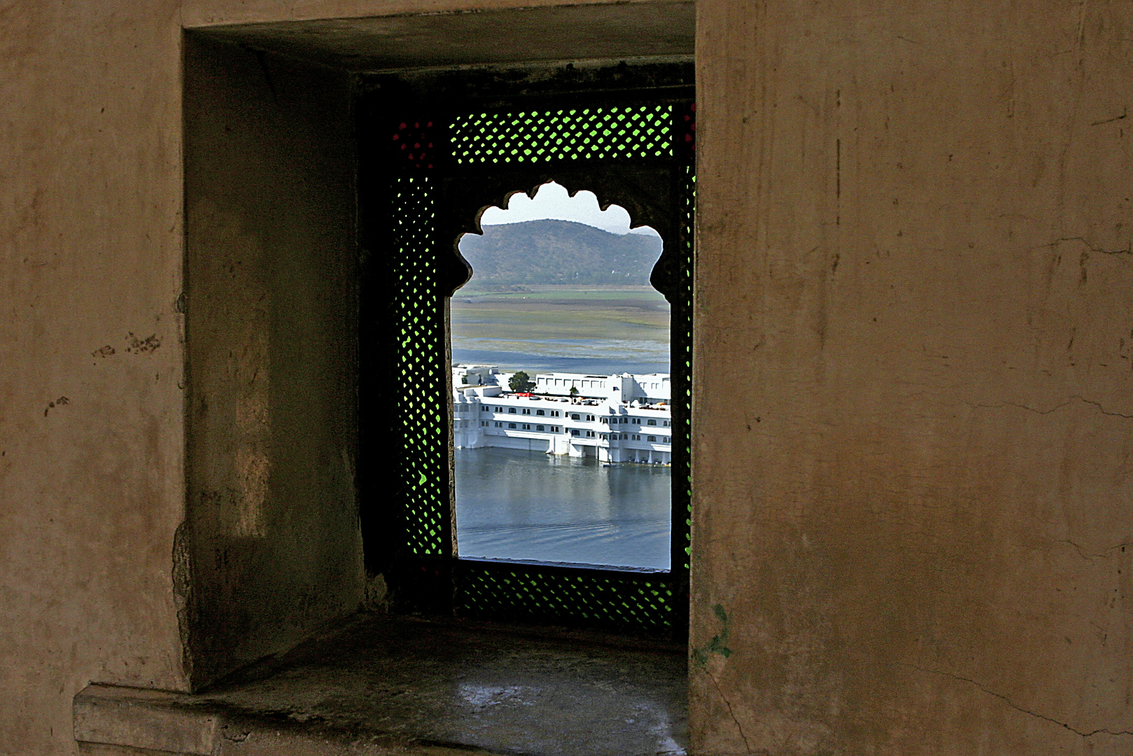 Hotel Taj Lake Palace in Udaipur/India