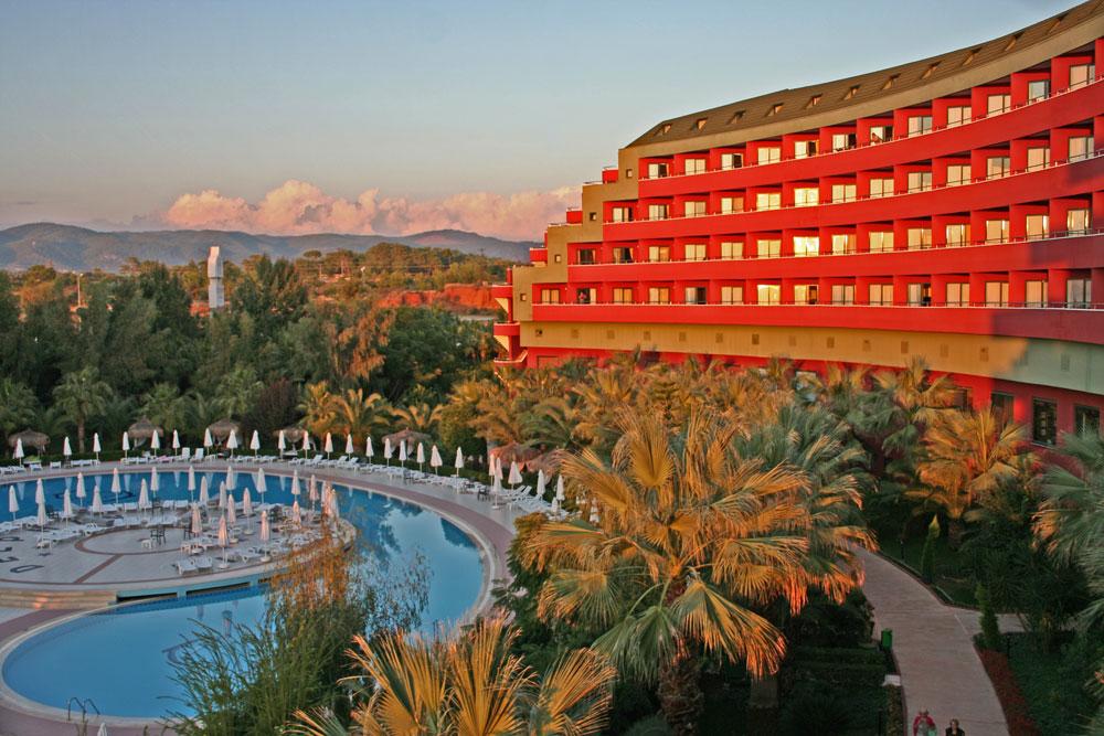 """Hotelanlage """"Delphin deluxe Resort"""""""