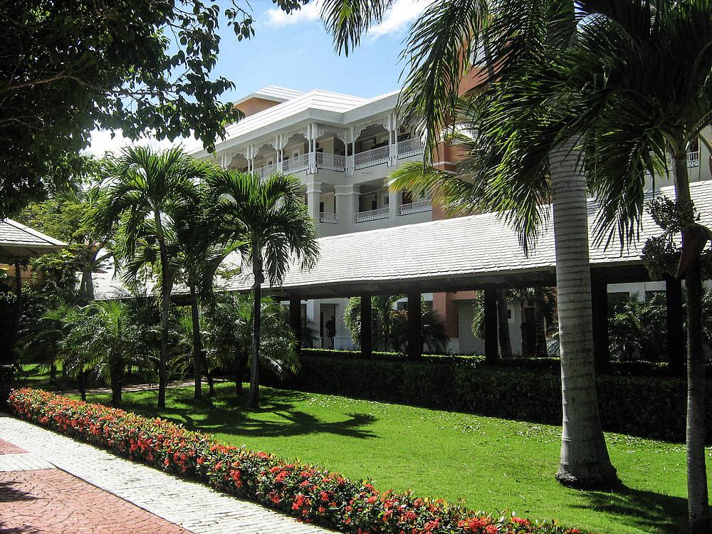 Hotelanlage in der Dominikanischen Republik
