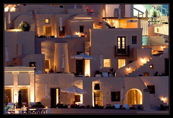 Hotelanlage in Imerovigli
