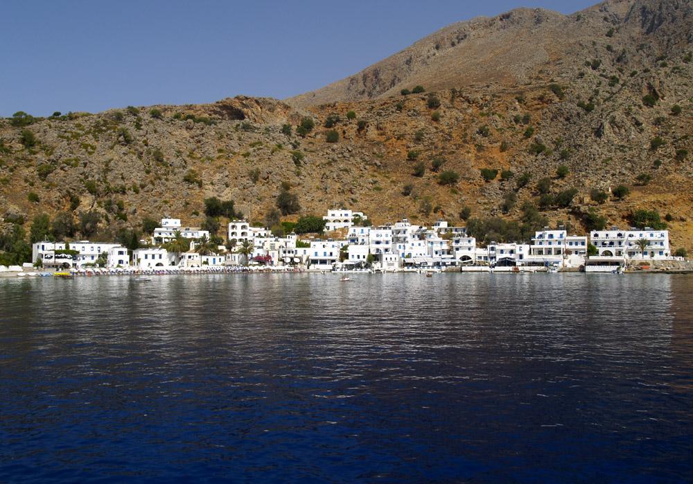 Hoteldorf in der Nähe von Samaria