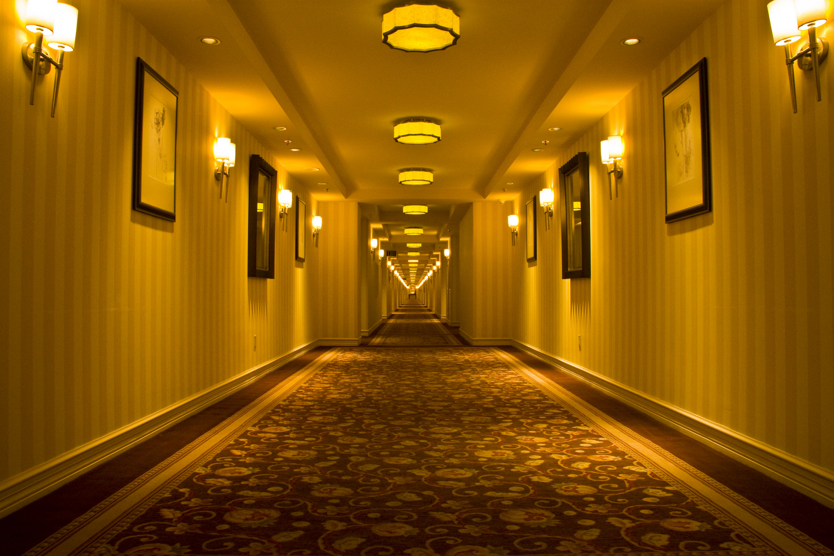 Hotelflur Bellagio