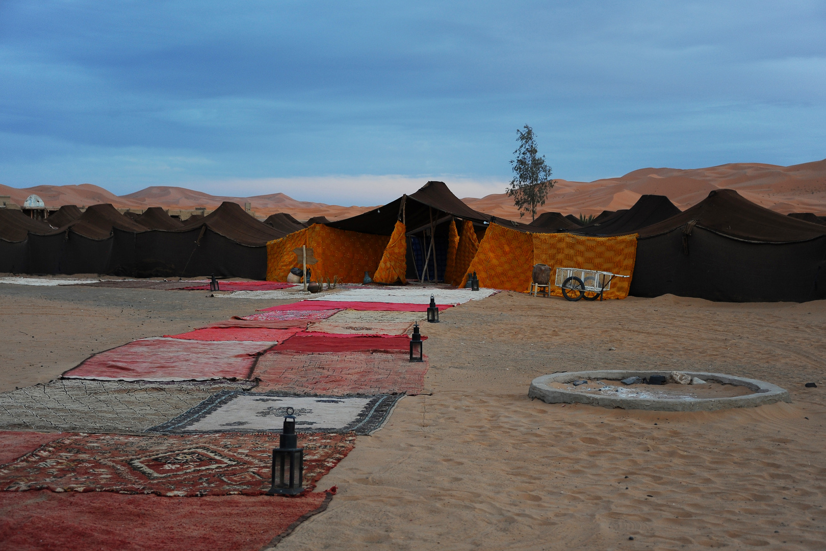 Hotelstadt in der Wüste