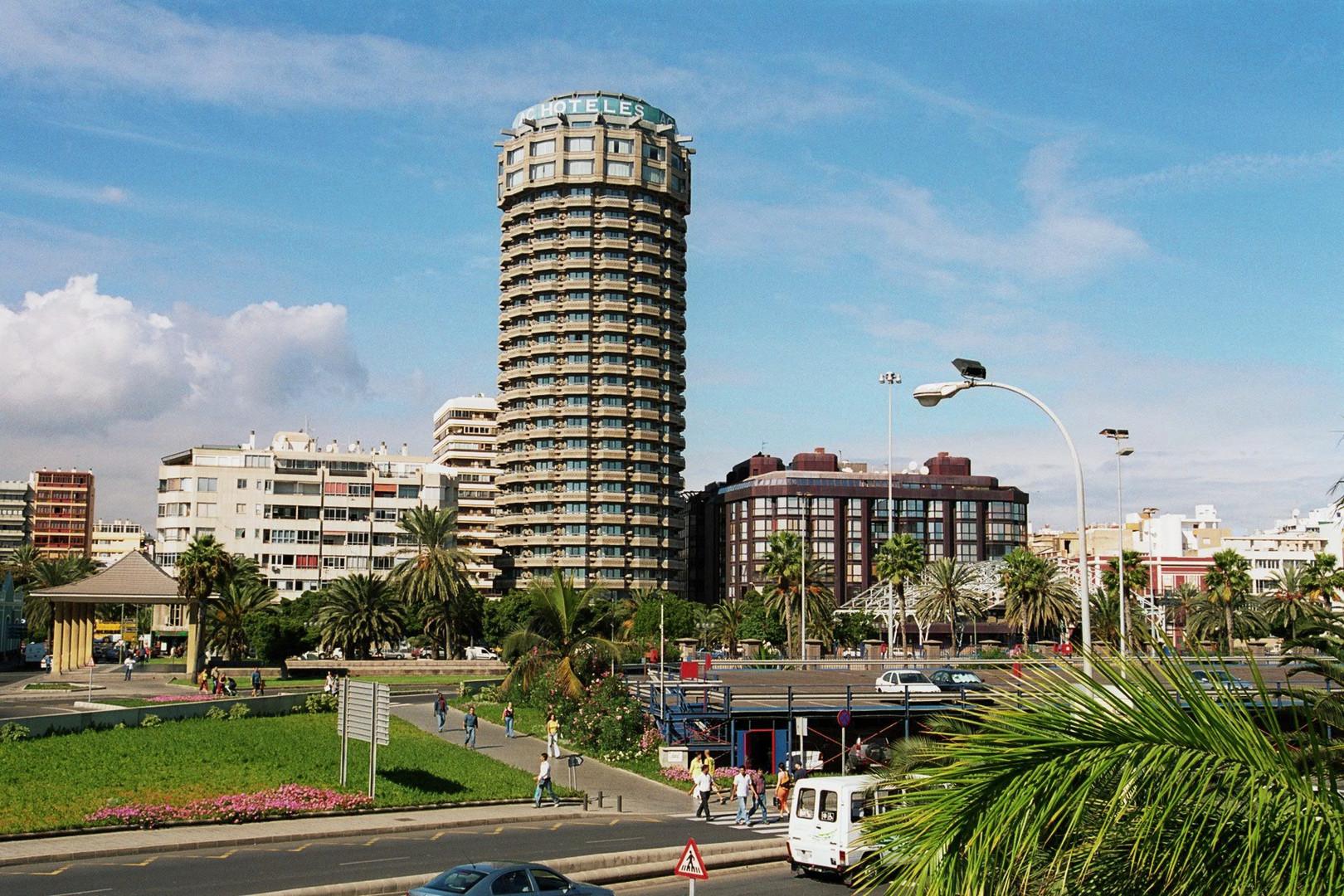 Hotelturm in Las Palmas