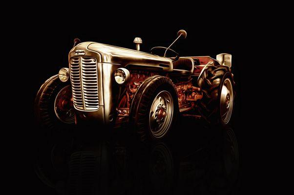 Hotrod-Traktor