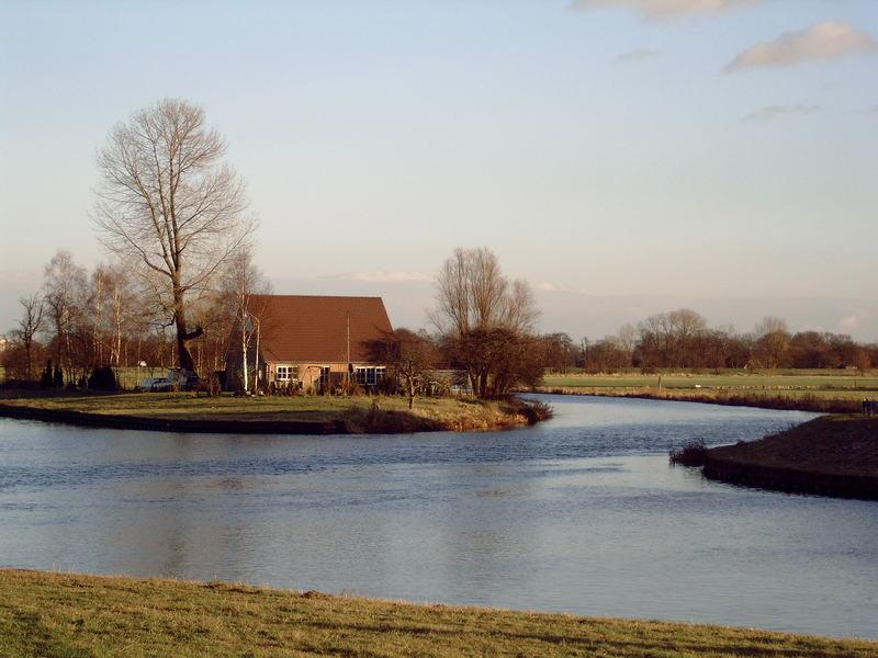 house between water