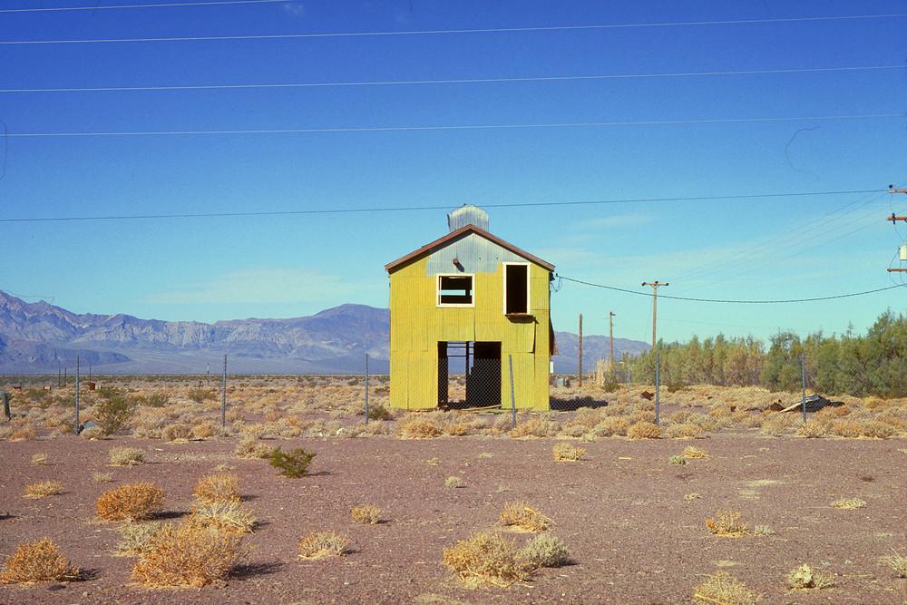 House in the Nevada Desert