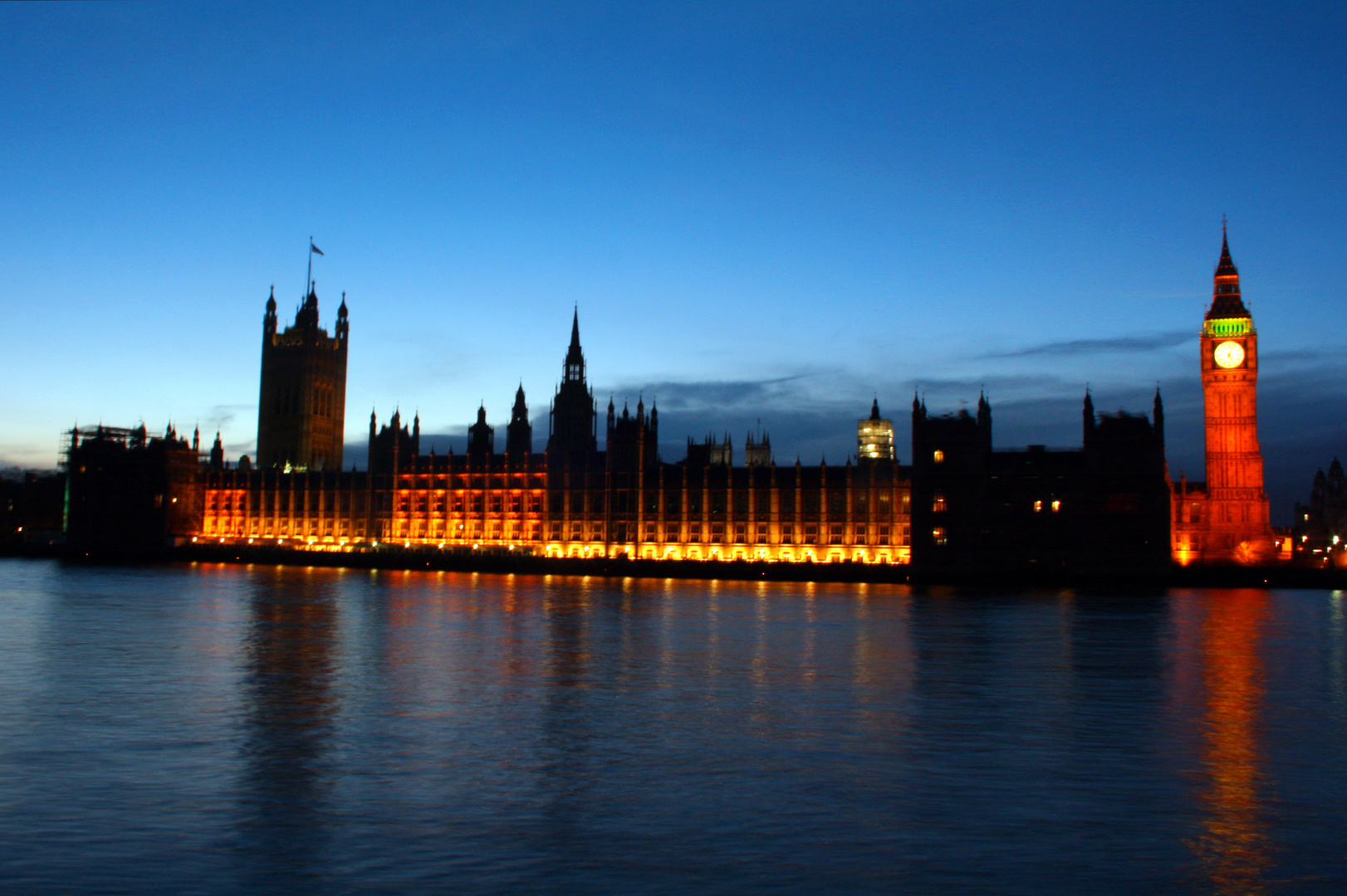 House of Parliament bei Sonnenuntergang