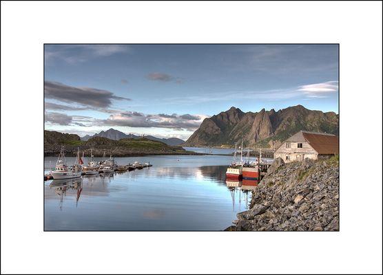Hovden - ein kleines Fischerdörfchen im Norden der Vesteralen