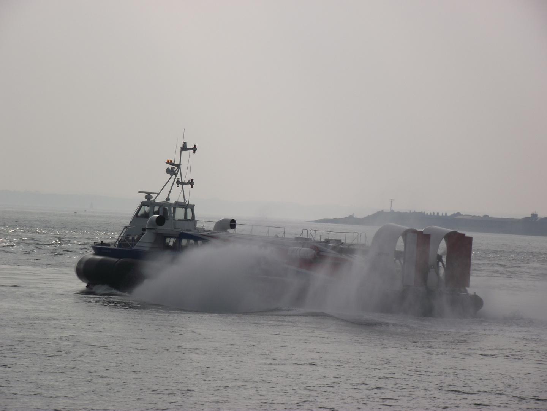 Hovercraft zur Isle of Wight