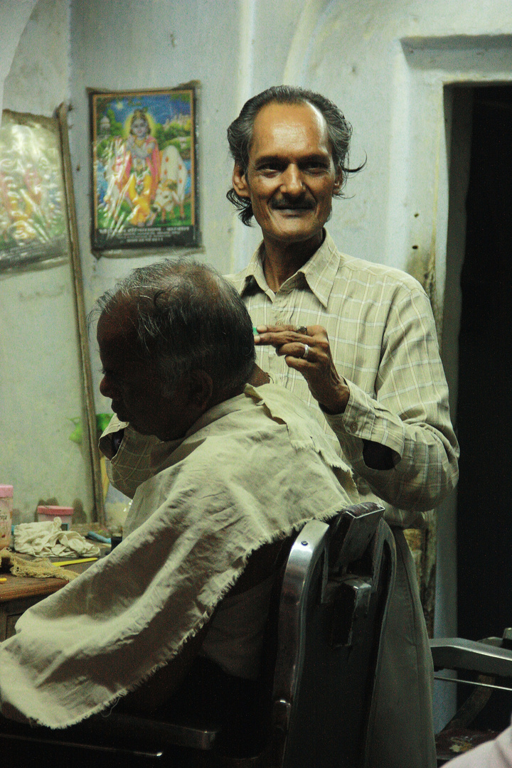 How about a fancy haircut? Jaipur, India