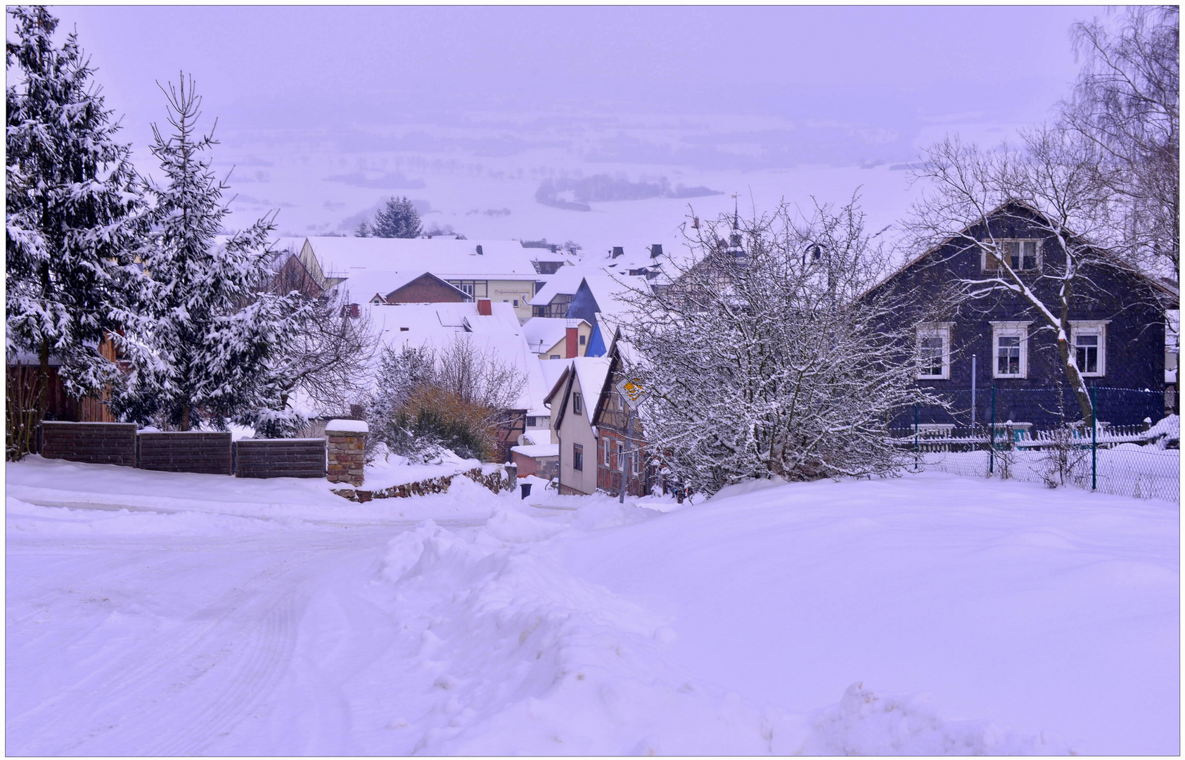 Hoy ha nevado mucho (Heute hat es sehr geschneit)