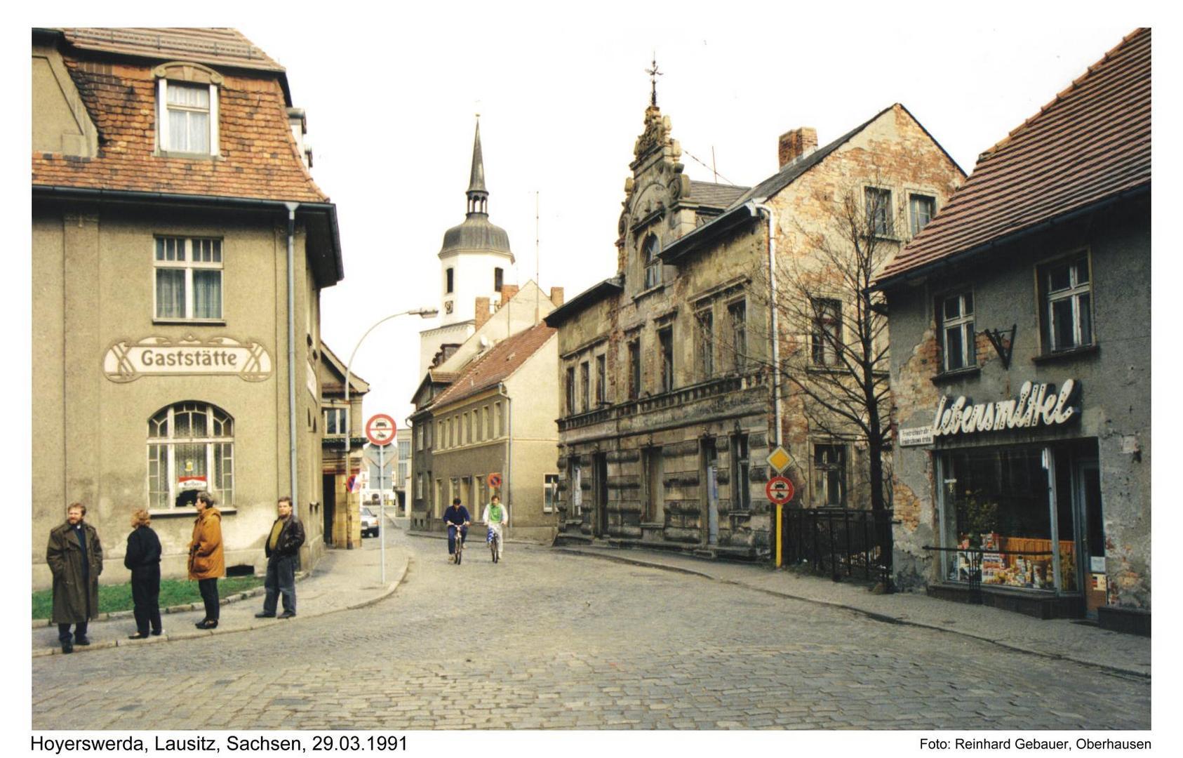 Hoyerswerda, Oberlausitz, Sachsen, 1991