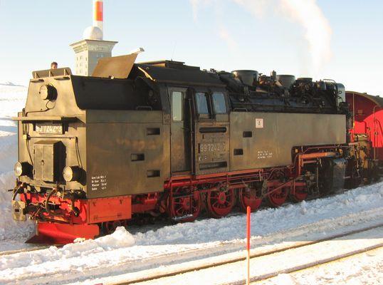 HSB 99 7242-3 auf dem Brocken