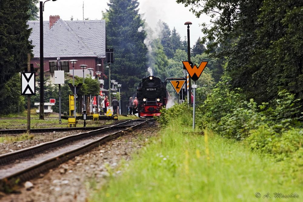 HSB-Bahnhof Drei Annen Hohne