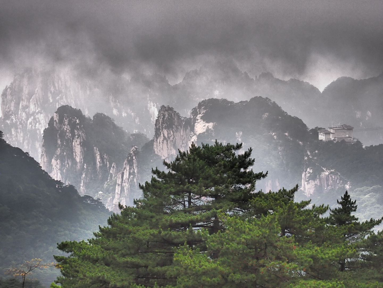 Huang Shan Scenery