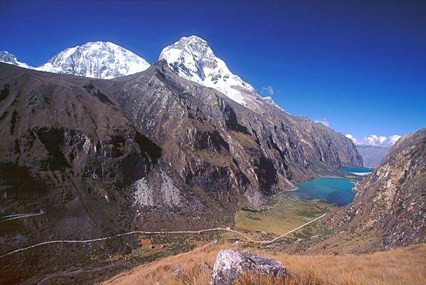 Huascaran und Llaganuco
