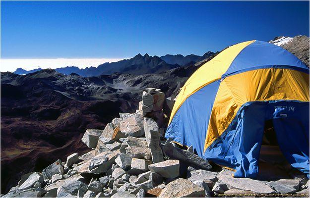 Huayna Potosi Highcamp